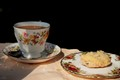 Funny little tea place