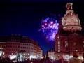 Frauenkirche in Dresden, Fireworks