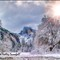 Yosemite Valley Winter Snow 01