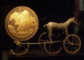 Trundholm Sun Chariot. ~1600-1800 BCE Danish national Museum