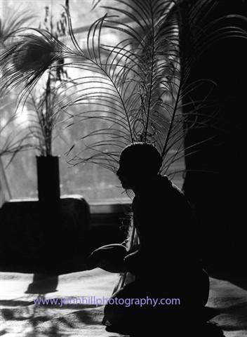 Monk In Prayer-photonet