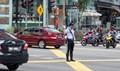 Traffic direction in Malaysia