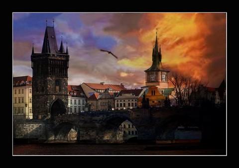 Prague - Charles Bridge -  Petr Nikl fotograf Praha