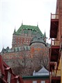 Chateau Frontenac; Heart of Old Quebec.