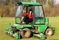 Hottie in a Tractor!