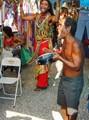 Happy Music at the Hippie Market
