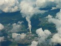 From the air, over northern France