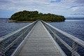 bridge to Sarah Island, Tasmania