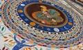 Mosaic floor in Vatican Museum