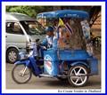 Ice Cream Vendor in Thaïland
