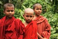 Young monks in Bangladesh