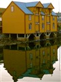 Yellow Warehouse in Rørvik