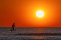 Foilboard-surfing