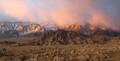 Winter Sunrise Eastern Sierra