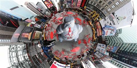 Bibendum in Times Square NYC