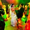 extreme colors wedding