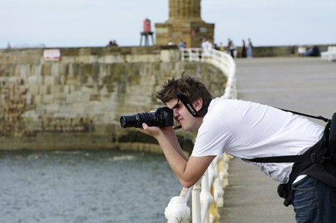 Andy at Whitby