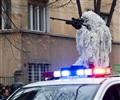 romanian police sniper