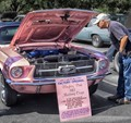 Playboy Pink 1967 Mustang Coupe