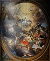 Chatsworth House, the Chapel Ceiling