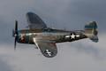 Major Ralph Jenkins and his P-47D
