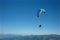 Alps Gliding in the Wind