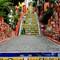 Famous Selaron stairway at Rio di Janeiro