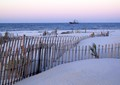 Beach of Dauphin Island