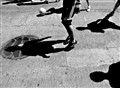 ...the afternoon street soccer...