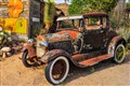 Ford 1930 Model A at Hackberry General Store