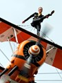Rather you than me! Breitling wing walker.