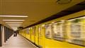 U2 Departing U-Bahn-Zoologischer Garten