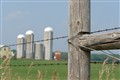 fence post and silos