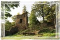 Ruins of a Gothic medieval castle Rýzmberg,Osek,Teplice county,CZ