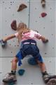 A Girl Climbing