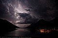 Waterton Lake Lightening Clouds