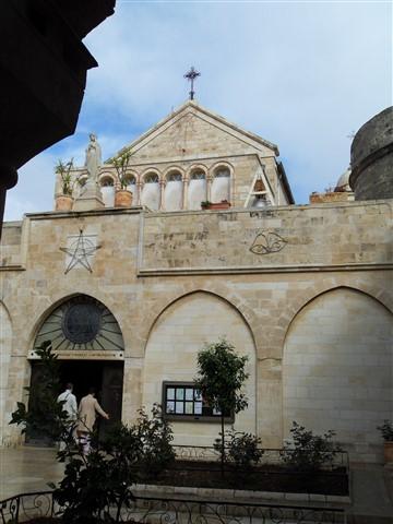 At Church of Nativity