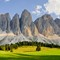 Odle Mountain Group, Dolomites, Italy