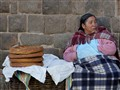 Patiently waiting for customers in Cusco