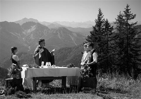 Mass in the Alps