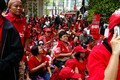 Bangkok red shirt protest