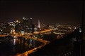Pittsburgh Night Skyline and Bridges