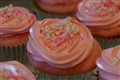 Pink Champaign Cupcakes - Yum!