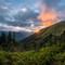 White Pass sunset