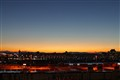 Vienna, Austria right after sunset