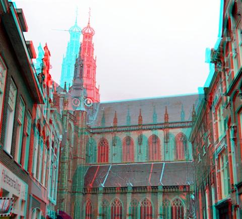 Sint-Bavokerk Haarlem 3D