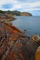 Orange coastline