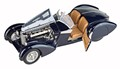 A 1/18 scale Bugatti 57C Roadster made by CMC.