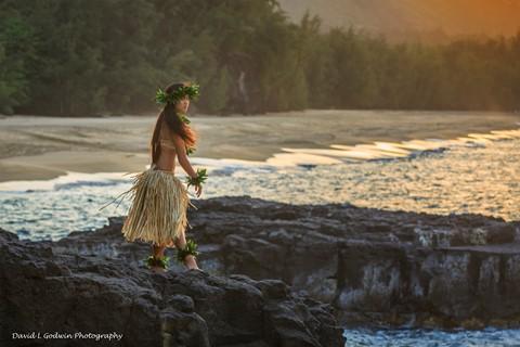 Hula on the North Coast of Kauai