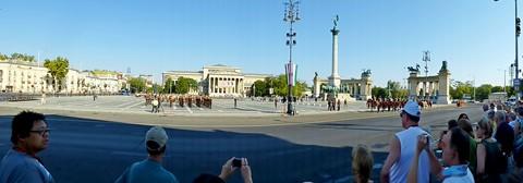 Hero's Square, Budapest, Hungar